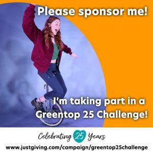 Greentop 25 Challenge Needs You!